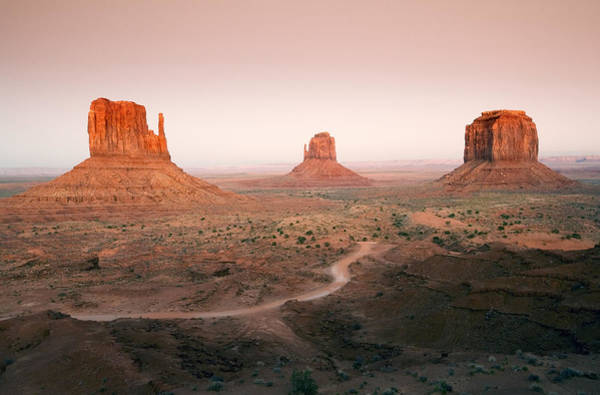 Monument Valley Photograph - Monument Dusk by Mike  Dawson