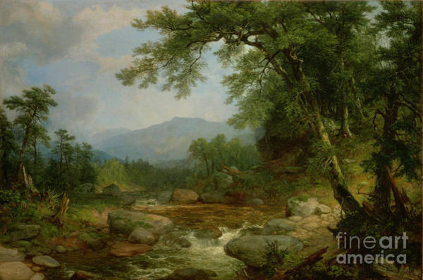 Monuments Painting - Monument Mountain - Berkshires by Asher Brown Durand