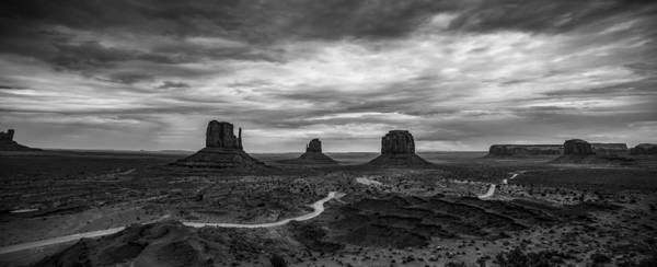 Monument Valley Photograph - Monument Panorama by Peter Irwindale