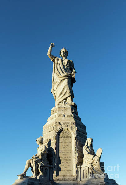 Wall Art - Photograph - Monument To The Forefathers by John Greim