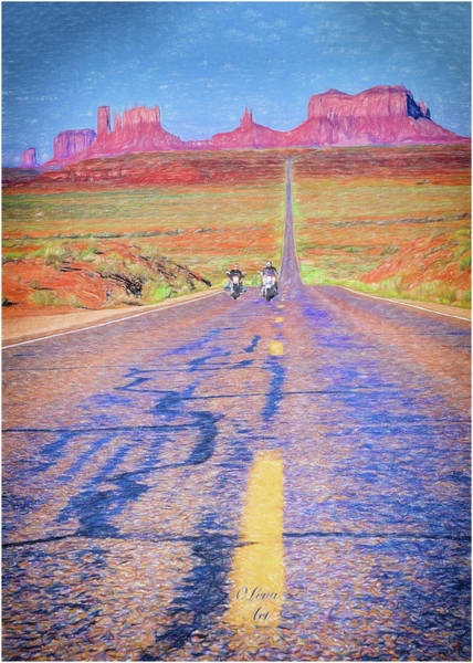 Photograph - Monument Valley - 2 by OLena Art Brand