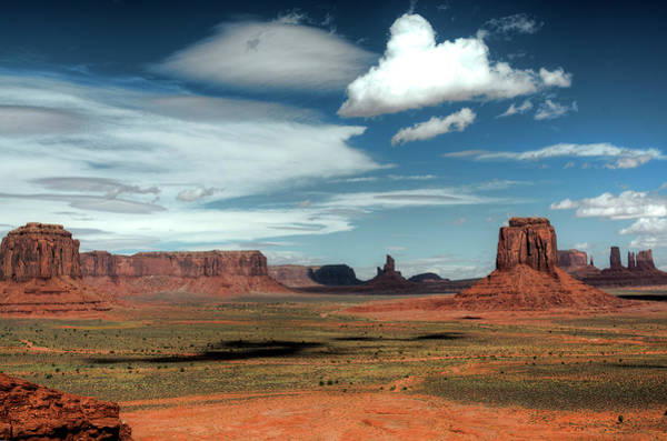 Photograph - Monument Valley 7 by Alex Galkin