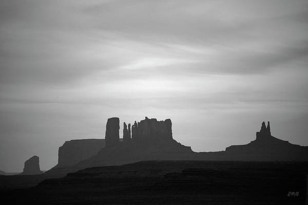 Photograph - Monument Valley IIi Bw by David Gordon