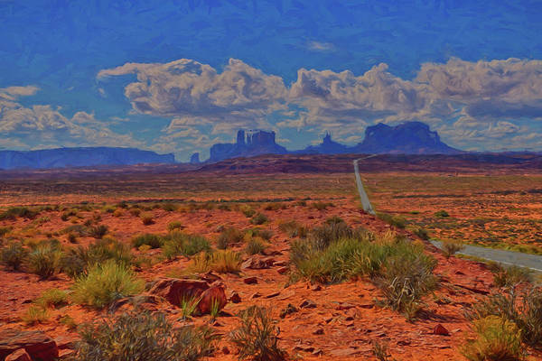 Photograph - Monument Valley Impressions by Greg Norrell