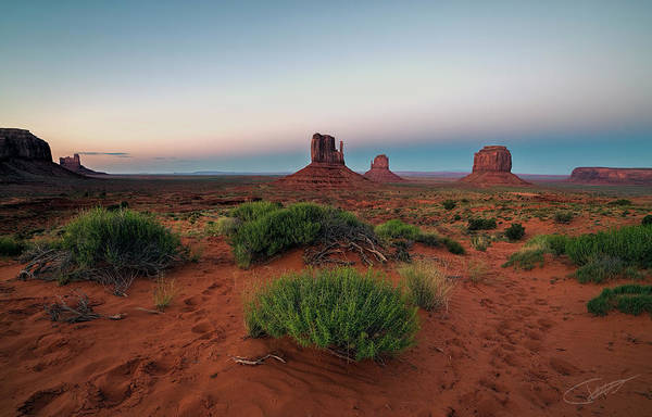 Photograph - Monument Valley by Jeff Niederstadt