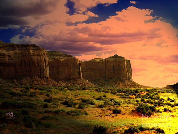 Photograph - Monument Valley Navajo Tribal Park Cliffs by Beauty For God