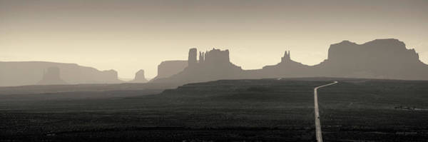 Photograph - Monument Valley Panorama I Toned by David Gordon