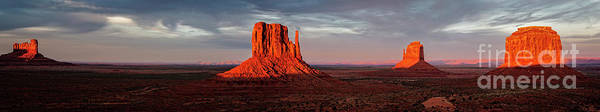 Photograph - Monument Valley Panoramic by Scott Kemper