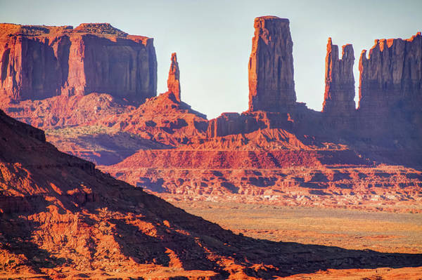 Photograph - Monument Valley Artist Point Rock Formations - Arizona Landscape by Gregory Ballos