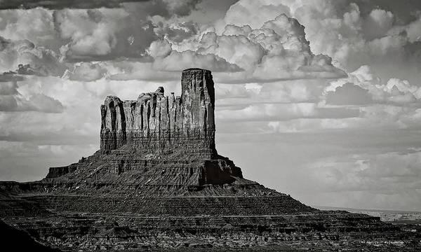 Stagecoach Photograph - Monument Valley - Stagecoach Butte  by Saija Lehtonen