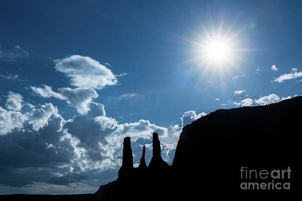 Wall Art - Photograph - Monument Valley Star by Jamie Pham