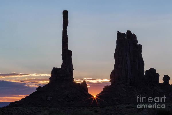Photograph - Monument Valley Sunrise by Richard Sandford