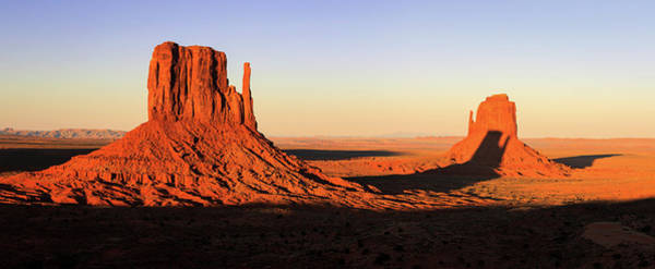 Photograph - Monument Valley Sunset Panorama by Johnny Adolphson