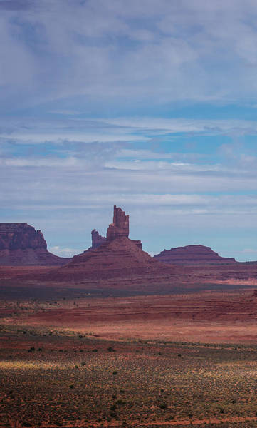 Photograph - Monument Valley Triptych Panel No.1 by Bud Simpson