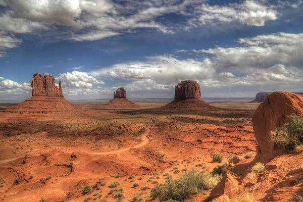 Monument Valley Photograph - Monument Valley View by Donna Kennedy