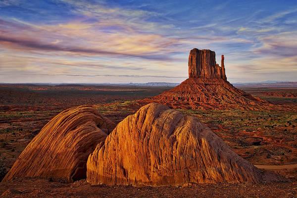 Photograph - Monument Valley West Mitten by Susan Candelario