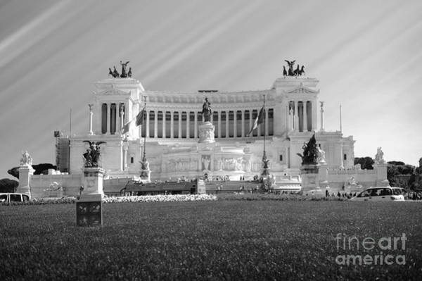 Wall Art - Photograph - Monumental Architecture In Rome by Stefano Senise