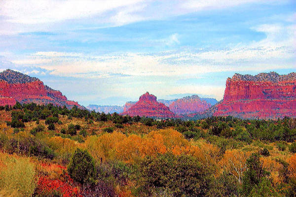 Photograph - Monumental Bell Rock Vista by Kristin Elmquist