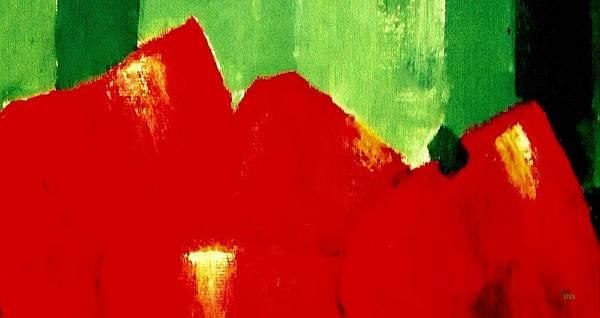 Painting - Monumental Capsicum by VIVA Anderson