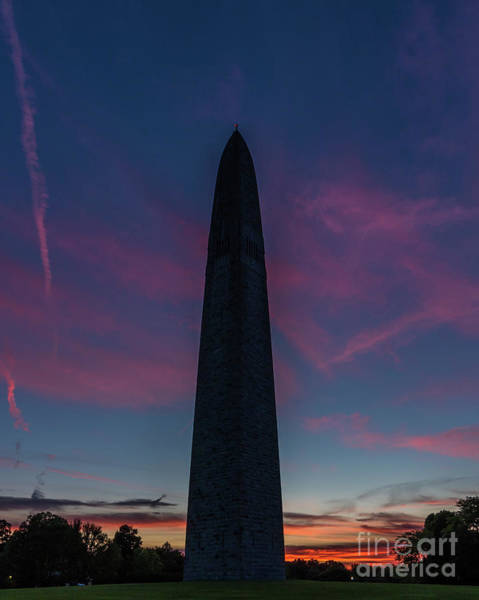 Monumental Sunset Art Print