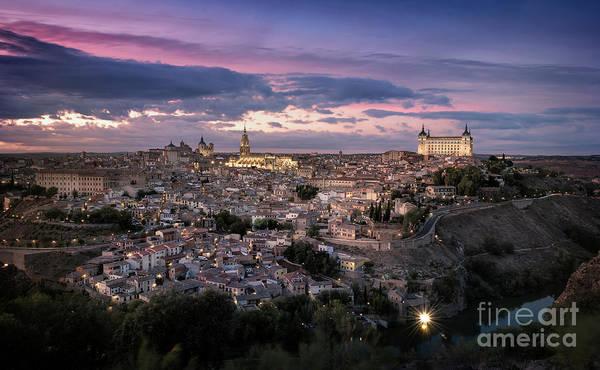 Tramonto Photograph - Monumental Toledo by Hernan Bua