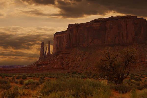 Photograph - Monumental Valley by Jonas Wingfield