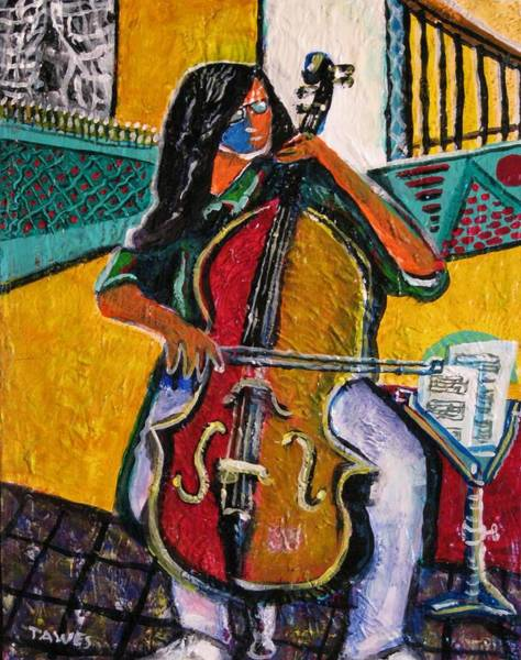 Painting - Mood In Music by Dennis Tawes