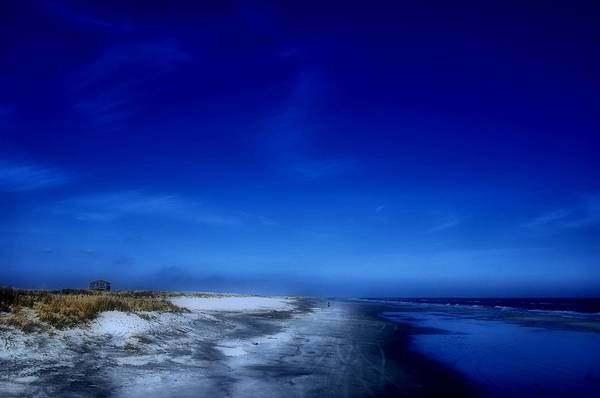 Photograph - Mood Of A Beach Evening - Jersey Shore by Angie Tirado
