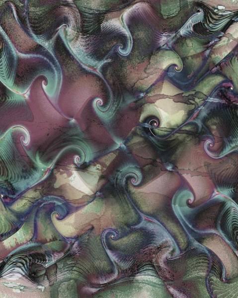 Digital Art - Mood Waves by Amanda Moore