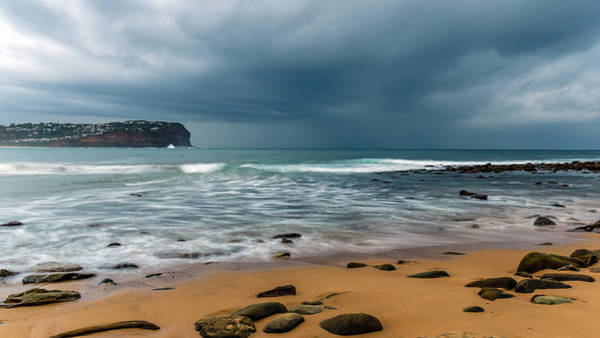 Wall Art - Photograph - Moody And Rocky Seascape by Merrillie Redden