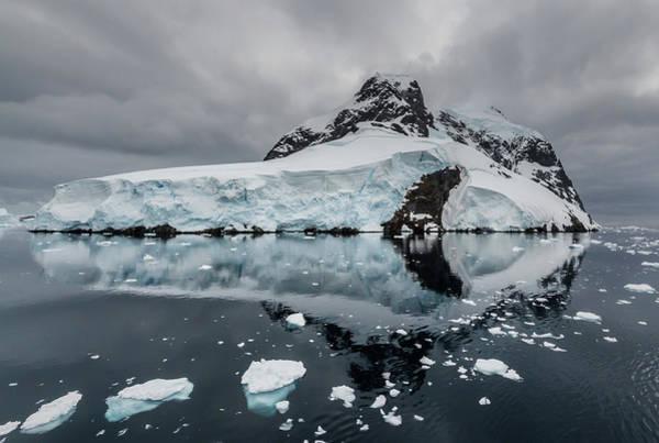 Antarctica Photograph - Moody Antarctica by Linda Oliver
