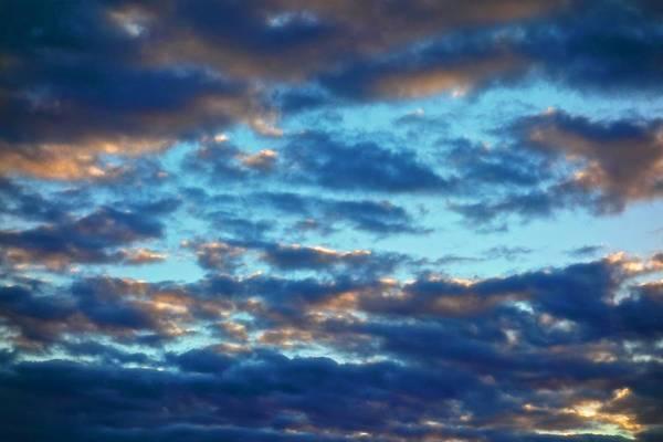 Painting - Moody Blue Skies by Joan Reese