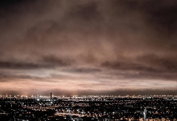 Wall Art - Photograph - Moody Cityscape by Kyle Goetsch