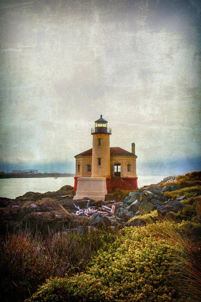 Wall Art - Photograph - Moody Lighthouse by Garry Gay