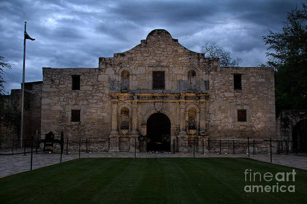 Photograph - Moody Morning At The Alamo by Jemmy Archer