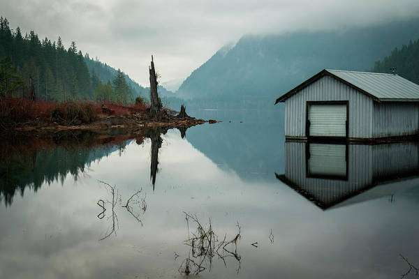 Photograph - Moody Reflection by Windy Corduroy
