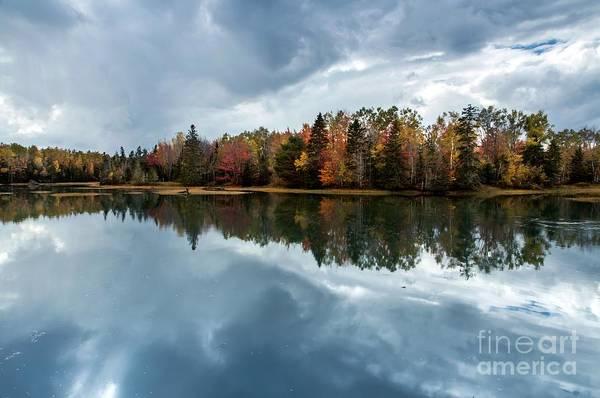 Photograph - Moody Reflections by Karin Pinkham