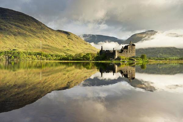 Photograph - Moody Skies Over Kilchurn Castle by Stephen Taylor