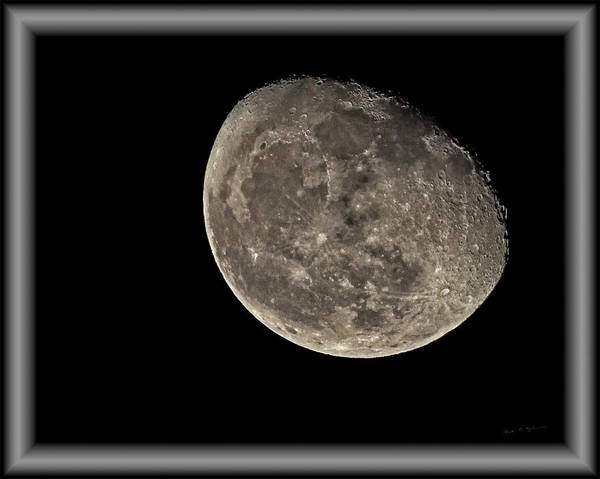 Photograph - Moon 8483c by Mark Myhaver