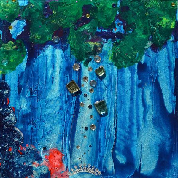Painting - Moon Bridge by MiMi Stirn