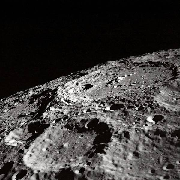 Photograph - Moon Craters by Marianna Mills