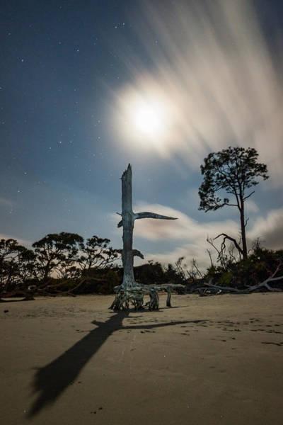 Photograph - Moon Dial by Chris Bordeleau