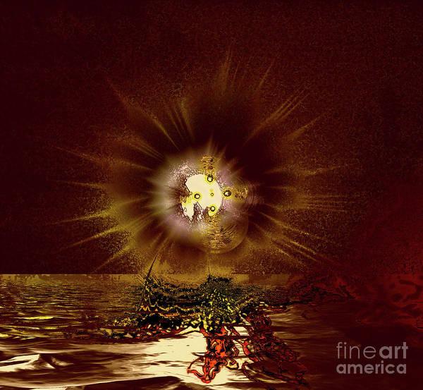 Wall Art - Photograph - Moon Explosion 5a by Elaine Hunter