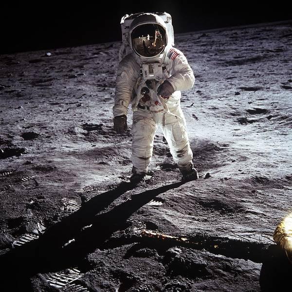Photograph - Moon Landing by Artistic Panda