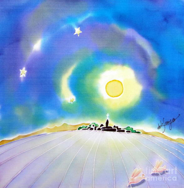 Painting - Moon Light by Hisayo Ohta