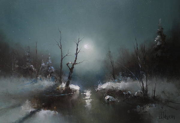 Painting - Moon Light by Igor Medvedev