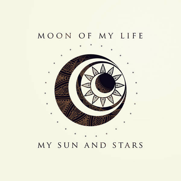 Gamer Digital Art - Moon Of My Life... My Sun And Stars by Rose's Creation