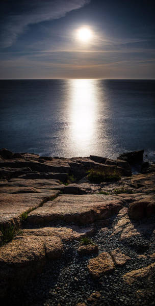 Wall Art - Photograph - Moon Over Acadia Shores by Brent L Ander