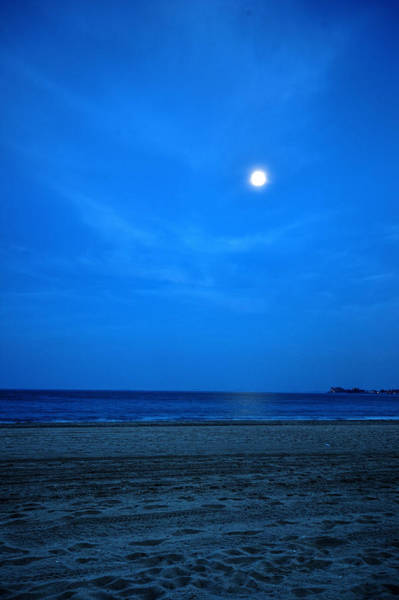 Photograph - Moon Over Revere Beach by Toby McGuire