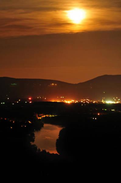 Photograph - Moon Over Shenandoah by Lara Ellis